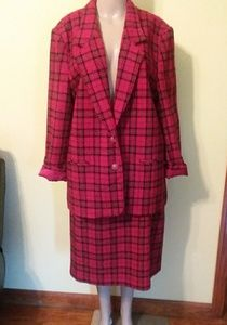 💖ALFRED DUNNER💖Jacket and Skirt size 16